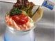冷菜のシュリンプカクテル