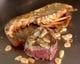 プリプリの伊勢エビと上質なステーキとの豪華な組み合わせ♪