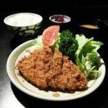 鹿児島産 黒豚ロースかつ定食