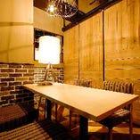 ◆個室完備 4名~40名様迄ご利用OKの個室もございます。