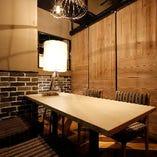 テーブル席個室(~5名様).