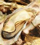 産直焼き牡蠣 1個290円