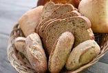 パン3種盛り