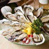池袋最安値 産直生牡蠣 1個290円
