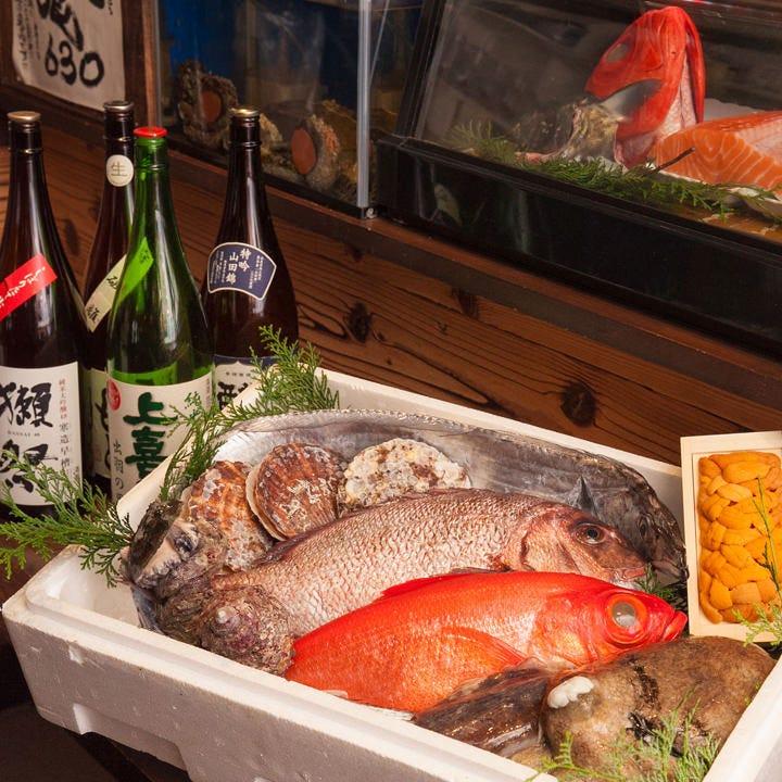 日本全国からの産地直送鮮魚!!