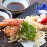 大えびの天ぷら