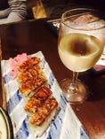 鮨バルのもう一つの楽しみ方っ!!ワイン片手に『江戸前寿司』を食すっ!!