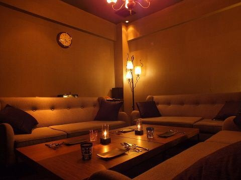 1日一組限定の完全個室で自分だけの空間をお楽しみください