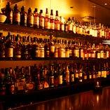 当店の豊富なウイスキー達。随時入荷するのでお楽しみに