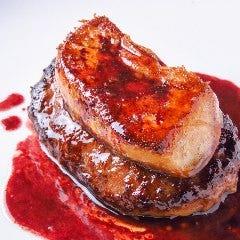 【数量限定】フォアグラと黒毛和牛ハンバーグステーキ~赤ワインソースで~