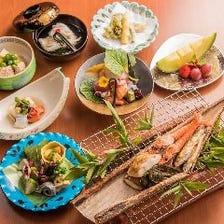◆【ランチ限定】巡る季節の恵みを珠玉の料理で堪能できる『京会席コース ~花~』<全8品>