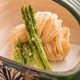 ◆旬を料理にしたためて◆ 料理人の技が織り成す珠玉の料理