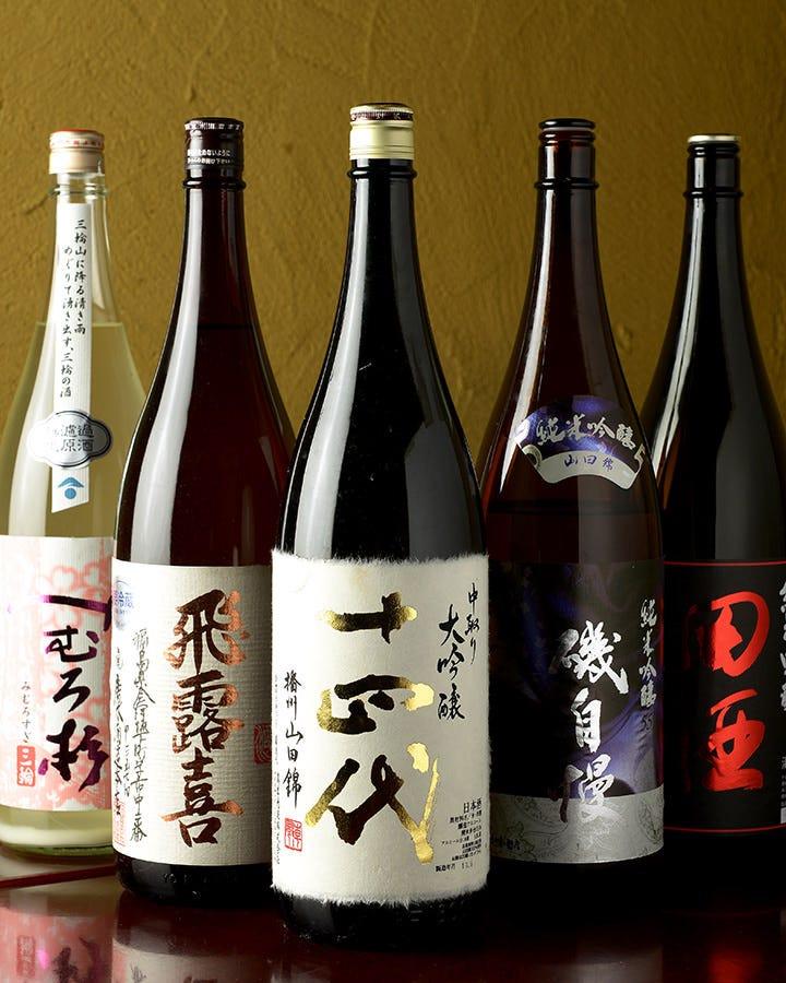 これからでは、地酒・焼酎・ワインに合う料理を提案致します!