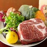 毎日市場に出向いて仕入れる旬な新鮮食材をその日の内にご提供