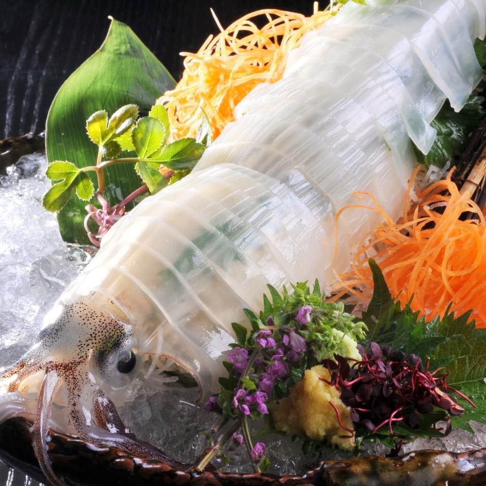 佐渡沖直送鮮魚などの海鮮和食が充実