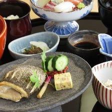 【焼魚とお造りの御膳】『漁火御膳(いさりび)』《オススメ》