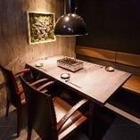 【テーブルVIP個室/2〜4名様】お忍びにも使える隠れ家的個室