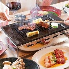 上質肉をコースで贅沢に食べ尽くす