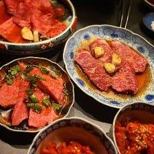 普段の気軽なお食事に。熟成タンや赤身肉など、人気メニューを揃えた『和魂コース』