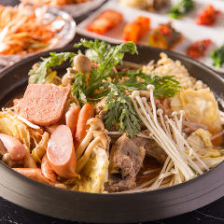 カムジャタン・プデチゲ・タッカンマリなど5種の鍋から1つチョイス『鍋コース』全6品│宴会