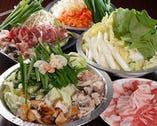 六種類のお鍋と二種類の鉄板焼 どれも絶品!しかも安い!
