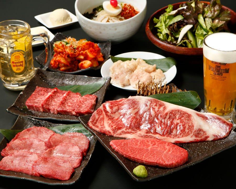 接待・宴会・デート…最高級ランクのお肉はどんなシーンにも♪
