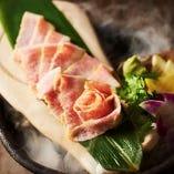 イベリコ豚燻製トントロ
