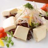 健康豆腐サラダ