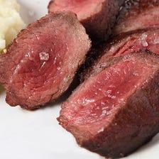 ステーキは200gよりご注文下さい