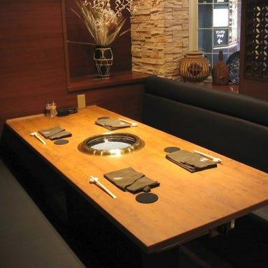 焼肉レストラン 辛子家  店内の画像
