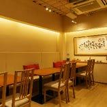 ◇店内◇ カウンター席から個室まで幅広い席がございます