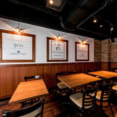 PIZZA&WINE カヤバール 茅場町店 店内の画像