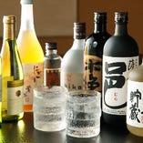 酒屋との長年の付き合いで、選りすぐりのお酒をご用意