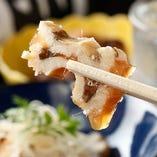 穴子煮凍り。とろっと舌でに留まるダシと旨味染み渡る美味しさ。