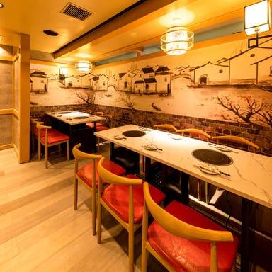 本格中華居酒屋×オーダー式食べ飲み放題 大品川中華街 品川店 店内の画像