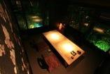 VIPROOM 接待・お祝いなどに最適! 掘りごたつの完全個室です。
