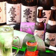 日本酒・本格焼酎も揃ってます◎