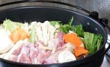 地鶏鍋・すき焼き(要予約)