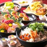 『わんイチオシコース』お料理9品+飲み放題2h 4300円!