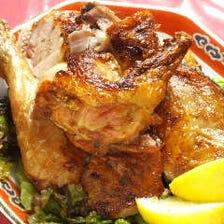 ハーブ鶏の丸ごと唐揚げ