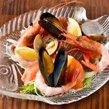 新鮮な魚介が絶品で大人気のカリビアンカルパッチョ【東京都】