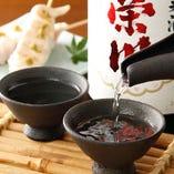 日本酒・焼酎を始め 鶏料理と良く合うお酒が多数!