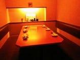 個室感のあるお部屋もございます。