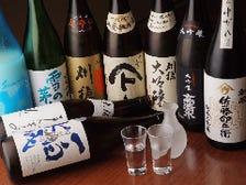 秋田の地酒が豊富な店