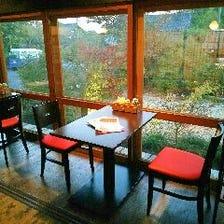 ◆庭園を望む縁側席◆