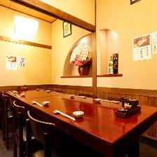 生ビール・ハイボール・日本酒も豊富