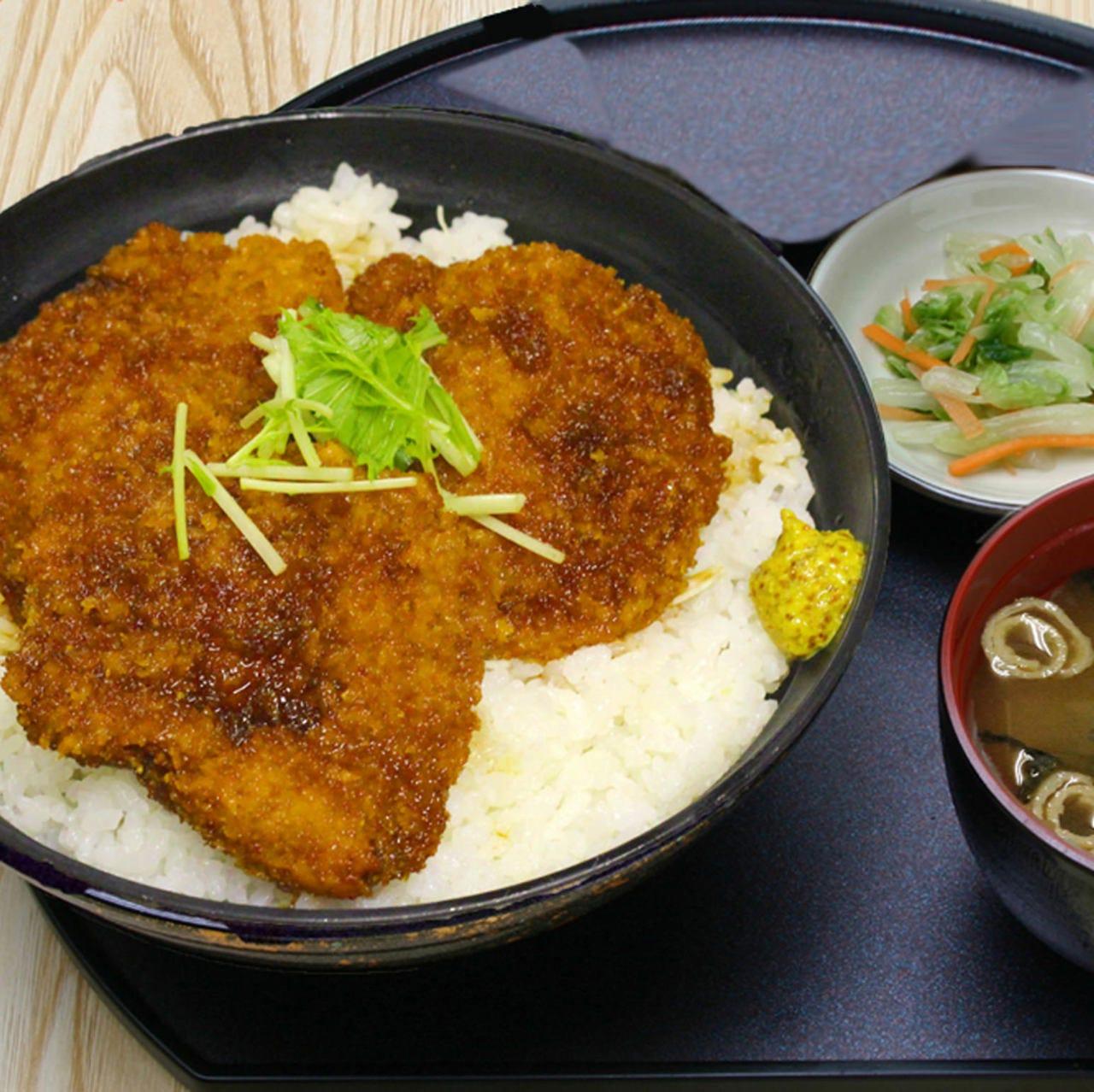 新潟ご当地名物「たれかつ丼」