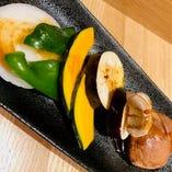 焼き野菜盛合せ(焼肉用)