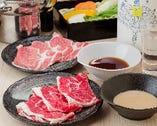 和豚   ※お一人様、小皿お肉(約50g)でご提供いたします。