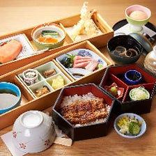 四季折々の旬の素材が楽しめる和食
